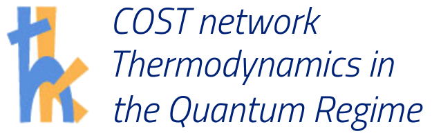 COST network Thermodynamics in the Quantum Regime